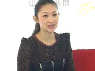 王诗文/直播CHIC2011东方宾利文化发展中心著名模特王诗文专访