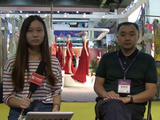 2014中国国际丝绸博览会暨中国国际女装展览会专访四川宁南县南丝路集团公司总经理林平